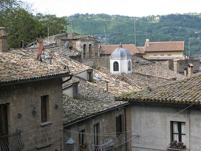 roof tops in Orvietto