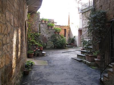 garden in Orvietto