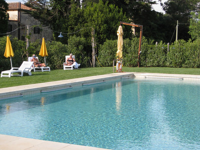 pool at La Parrina