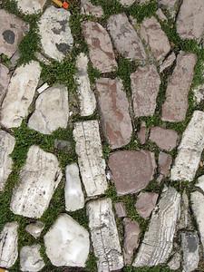 cobblestones around the duomo in Orvieto