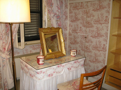 our dressing room at La Parrina