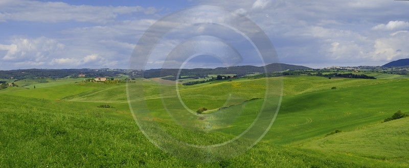 Asciano Tuscany Italy Toscana Italien Spring Fruehling Scenic Photography Prints For Sale River - 013124 - 23-05-2013 - 17014x6994 Pixel