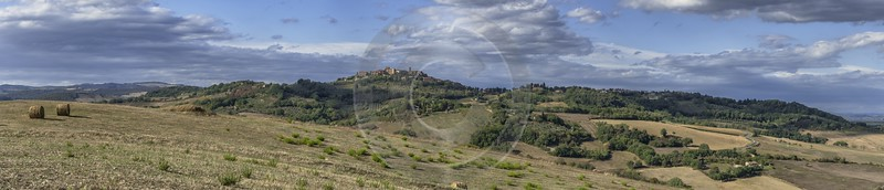 Casole D Elsa Chianti Tuscany Winery Panoramic Viepoint Summer Fine Arts Photography - 022820 - 14-09-2017 - 28106x6045 Pixel