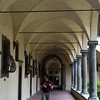 Inner courtyard of the Biblioteca Laurenziana Medicea