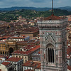 View from the Florence Cathedral dome