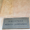 The Biblioteca Laurenziana Medicea