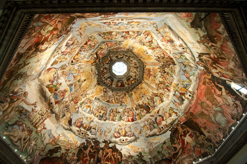 Detail of the Florence Cathedral's dome