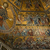 The Baptistery's ornate ceiling