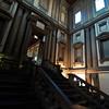 Staircase, designed by Michelangelo, in the Biblioteca Laurenziana Medicea