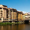 The famed Ponte Vecchio on the Arno River