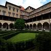 Inner courtyard of the Biblioteca Laurenziana Medicea