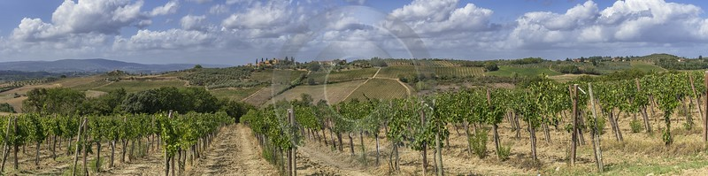 La Strolla Tuscany Winery Panoramic Viepoint Lookout Hill Art Photography Gallery Fine Art America - 022871 - 12-09-2017 - 31204x7775 Pixel