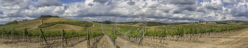 Lilliano Chianti Tuscany Winery Panoramic Viepoint Lookout Hill Sky River Fine Art Printing - 022733 - 15-09-2017 - 38930x7635 Pixel