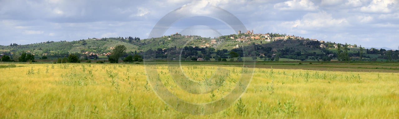 Lucignano Tuscany Italy Toscana Italien Spring Fruehling Scenic Art Photography For Sale Pass Snow - 012612 - 15-05-2012 - 15143x4545 Pixel