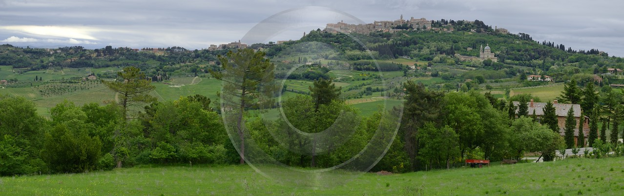 Montepulciano Tuscany Italy Toscana Italien Spring Fruehling Scenic Fine Art Photography For Sale - 012903 - 13-05-2012 - 14772x4644 Pixel