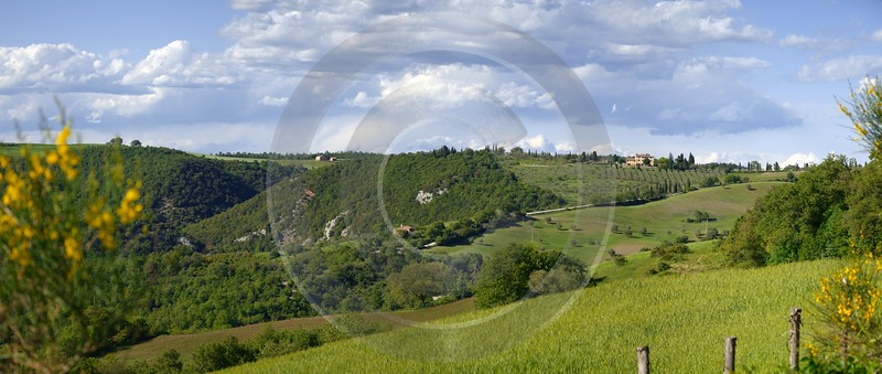 Monticchiello Hill Huegel Tuscany Italy Toscana Italien Spring What Is Fine Art Photography - 012701 - 16-05-2012 - 10359x4390 Pixel