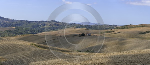 Montignoso Tuscany Farmland Brown Panoramic Viepoint Lookout Hill Photo Fine Art Coast - 022836 - 14-09-2017 - 17514x7588 Pixel