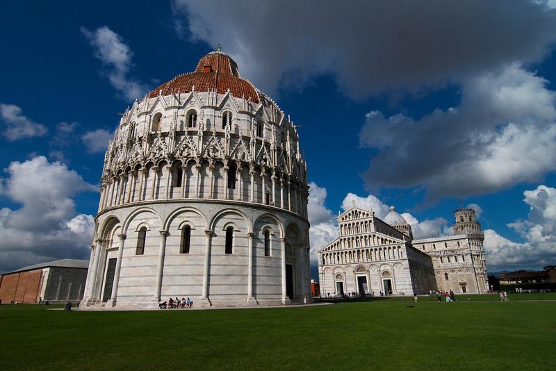 The amazing Pisa Baptistery