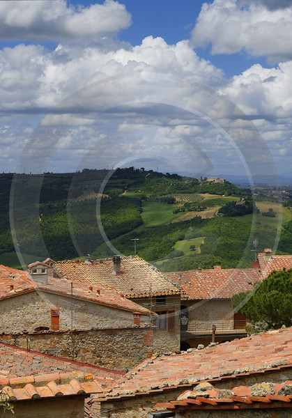 Rocca Orcia Old Town Tuscany Italy Toscana Italien Fine Art Prints Pass Modern Art Prints Snow Sea - 014028 - 19-05-2013 - 7260x10394 Pixel