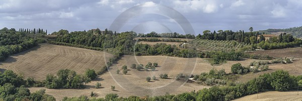 Roncolla Tuscany Winery Panoramic Viepoint Lookout Hill Autumn Fine Art Posters Photo Photography - 022861 - 12-09-2017 - 23646x7946 Pixel