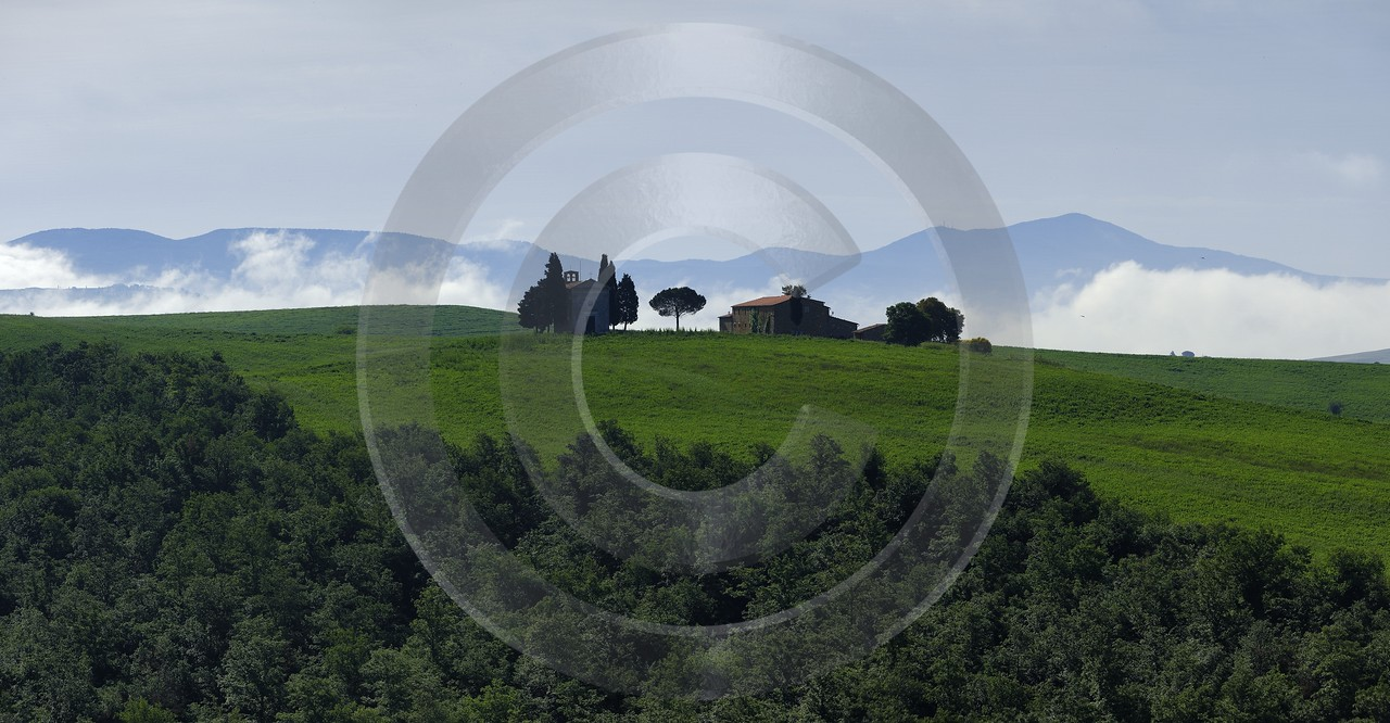 San Quirico Orcia Tuscany Italy Toscana Italien Spring View Point Fine Art - 014104 - 22-05-2013 - 12722x6618 Pixel