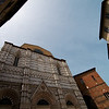 Buildings surrounding the Siena Cathedral