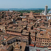 View of Siena from the top of the Torre del Mangia (102m)