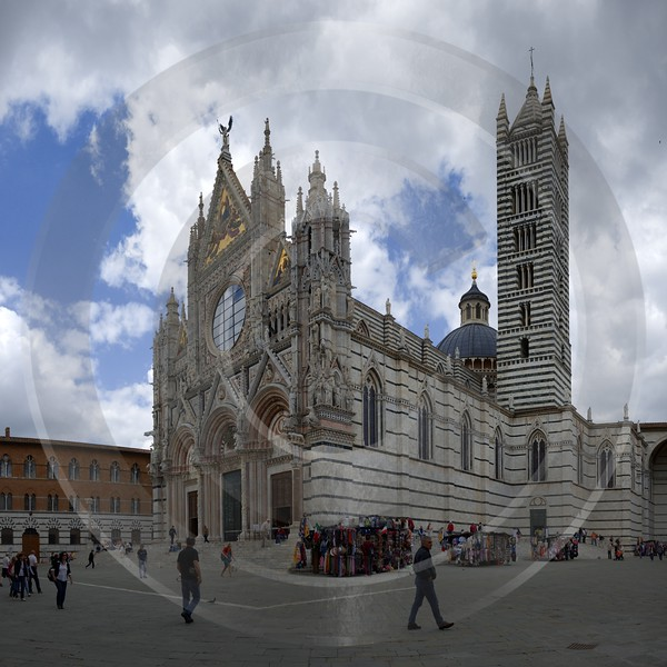 Siena Old Town Tuscany Italy Toscana Italien Spring Stock Pictures Barn Park Art Prints For Sale - 012591 - 15-05-2012 - 7847x7846 Pixel