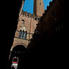 Torre del Mangia, from a Siena side street