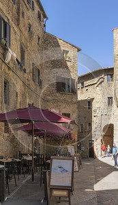 Volterra Old Town Tuscany Winery Panoramic Viepoint Lookout City Stock Photos Ice Rock Animal - 022832 - 14-09-2017 - 7640x13268 Pixel