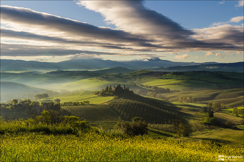 Morning in Tuscany | Утро в Тоскане