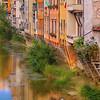 Arno River Near Ponte Vecchio in Florence