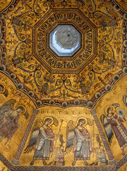Baptistery Ceiling in Florence