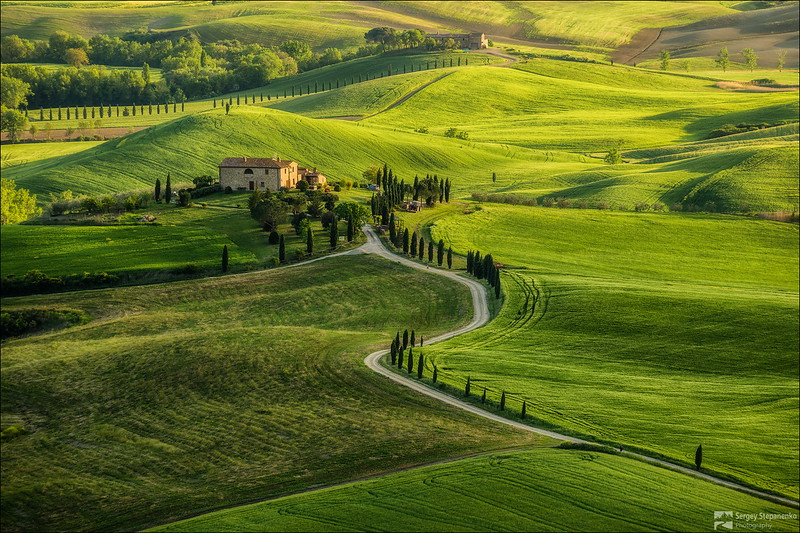 Val d'Orcia from Pienza | Val d'Orcia из Пиензы