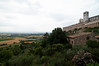 Basilica di San Francesco and the Umbrian countryside
