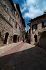 The quiet side streets of Assisi