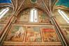 Inside the upper church, Basilica di San Francesco