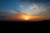 Sunset over Umbria