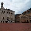 The Palazzo dei Consoli in the Piazza Grande