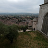 Views of Umbria from the Gubbio Cathedral