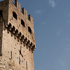Montefalco clock tower