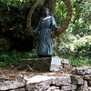Statue of St. Francis along the trail