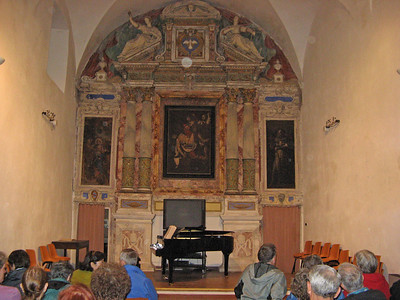 Piano recital at decommisioned St. Gregory Church