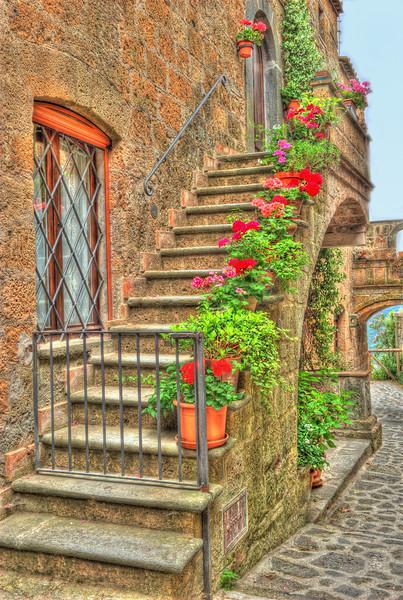 Civita di Bagnoregio Stairway
