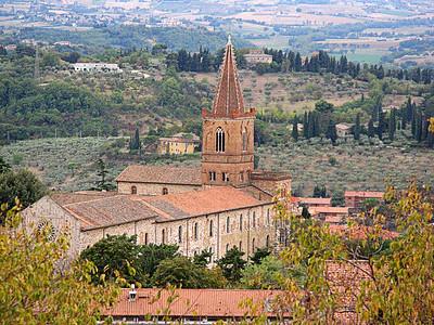 View from Giardini Carducci