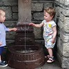 Discovering a Courmayeur drinking fountain