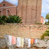 Laundry Under the Leaning Tower