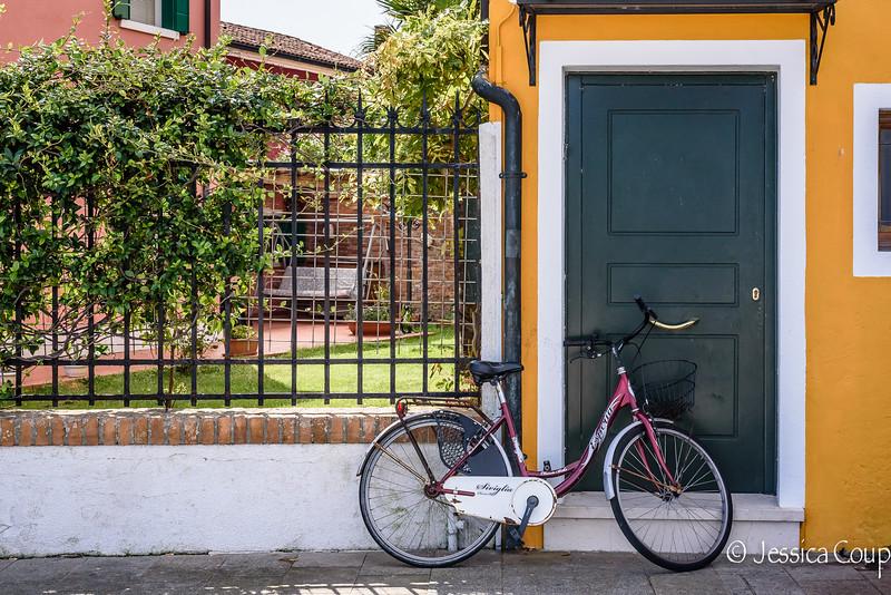 Bike Against the Door