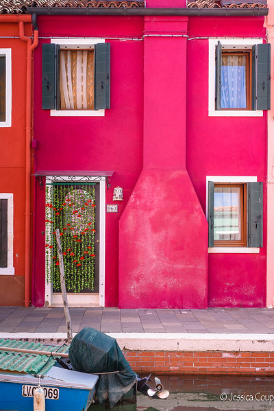 Raspberry Colored House