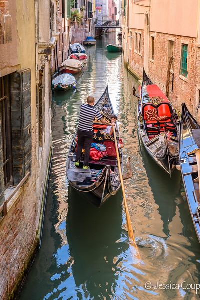 Watching the Gondolier